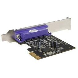 STARTECH 1 PORT PCIE PARALLEL ADAPTER CARD W/LP Bracket