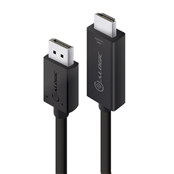 ALOGIC 2M DISPLAY PORT to HDMI Cable 4K60Hz- MM