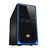 COOLERMASTER ELITE RC-344 mATX BLK/BLU U3 MINI TOWER NO PSU