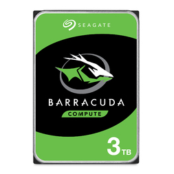 "SEAGATE 3TB BARRACUDA DESKTOP SATA 5400RPM 256MB 3.5"" 2YRS"