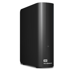 "WD 4TB ELEMENTS DESKTOP 3.5"" USB3 EXT HDD - BLACK"