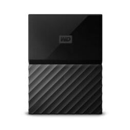 "WD 2TB MY PASSPORT PORTABLE USB3.0 2.5"" - BLACK"