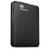 "WD 2TB ELEMENTS PORTABLE 2.5"" USB3 EXTERNAL HDD - BLK"