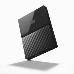 "WD 4TB MY PASSPORT 2.5"" DRIVE USB 3.0 - BLACK"