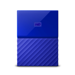 "WD 4TB MY PASSPORT 2.5"" DRIVE USB 3.0 - BLUE"