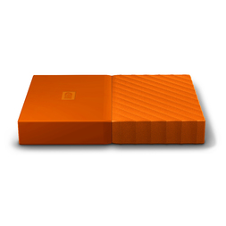 "WD 4TB MY PASSPORT 2.5"" DRIVE USB 3.0 - ORANGE"
