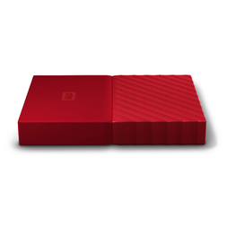 "WD 4TB MY PASSPORT 2.5"" DRIVE USB 3.0 - RED"