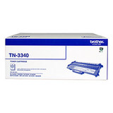 BROTHER TN3340 BLACK TONER FOR HL-54xx & MFC-8xx, 8000 PAGES