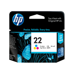 HP C9352AA NO. 22 TRI COLOR AP INK CARTRIDGE