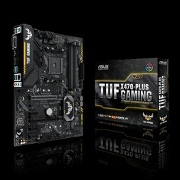ASUS TUF X470 PLUS GAMING AM4 ATX MOTHERBOARD