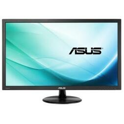 "ASUS 21.5"" VP228H WIDE BLACK LED,1MS w/VGA,DVI,HDMI, 3YR"