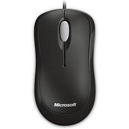 MICROSOFT BLACK USB BASIC OPTICAL MOUSE