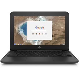 "HP ChromeBook 11 11"" HD UWVA  Cel N3060 2GB 16GeMMCC  TOUCH Chrome 64 1YR WTY"