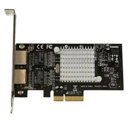 STARTECH DUAL PORT PCI-E (x4) GIGABIT SERVER NETWORK CARD