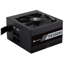 CORSAIR TX550M 550W 80+ GOLD ATX12V PSU 7YR