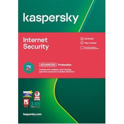 KASPERSKY INTERNET SECURITY OEM 3 DEVICE 2 YEARS - ESD