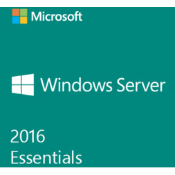 MICROSOFT WINDOWS SERVER ESSENTIALS 2016 2CPU 64BIT (OEM)