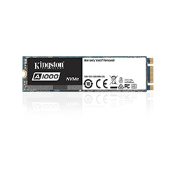 KINGSTON 480GB SSDNow A1000 M.2 2280 NVMe DRIVE